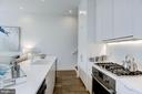 Gourmet kitchen with top of the line appliances - 1106 T ST NW, WASHINGTON