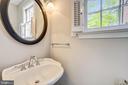 Even the powder room has heated floors - 4924 BUTTERWORTH PL NW, WASHINGTON