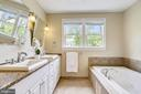 Two sinks, jetted soaking tub, room for sharing - 4924 BUTTERWORTH PL NW, WASHINGTON