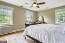 Spacious and sunny master bedroom - 4924 BUTTERWORTH PL NW, WASHINGTON