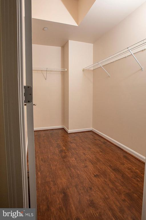 Walk-in Closet of the Master Bedroom - 11710 OLD GEORGETOWN ROAD #1521, NORTH BETHESDA