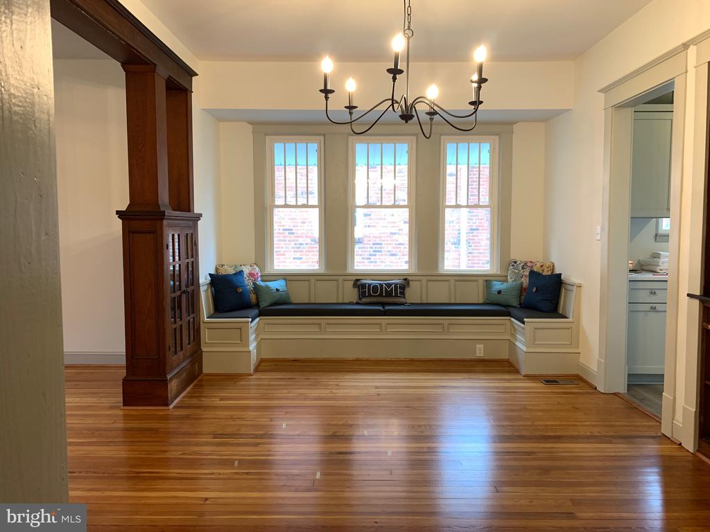 Window seat in the dining room - 3630 PETERSVILLE RD, KNOXVILLE