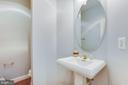 Half bath on main level - 17072 SILVER CHARM PL, LEESBURG