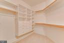Custom buit in units in closets - 17072 SILVER CHARM PL, LEESBURG