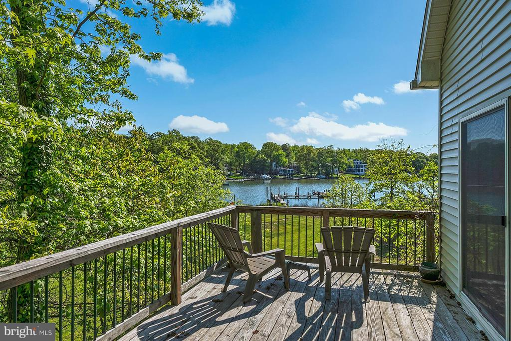 Any time of day is the right time for water views - 1218 WASHINGTON DR, ANNAPOLIS
