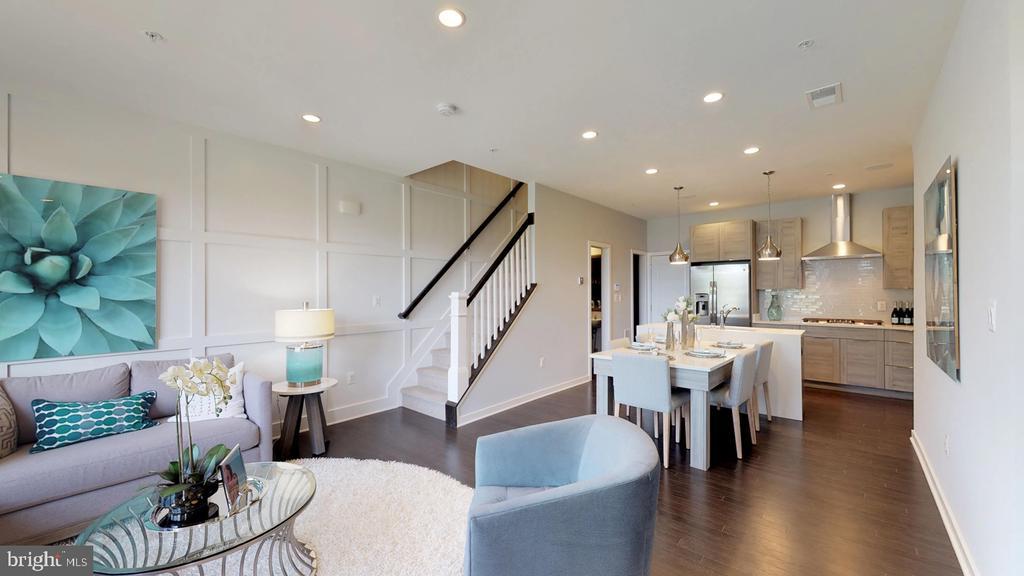 Family Room/Kitchen - 43193 MONGOLD SQ, ASHBURN