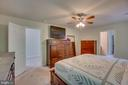 Master Bedroom with Ceiling Fan - 31 WALKER WAY, STAFFORD