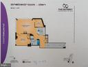 Floor plan of #812 - 2001 15TH ST N #812, ARLINGTON