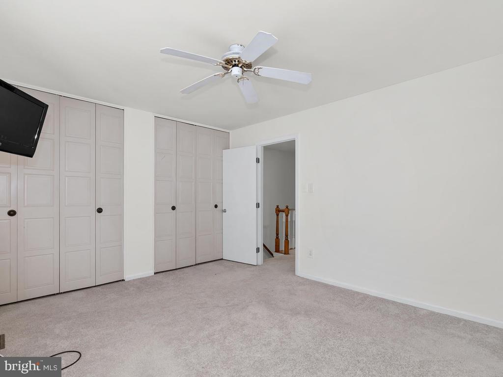 Master bedroom has plenty of closet space. - 1030-B MARGATE CT, STERLING
