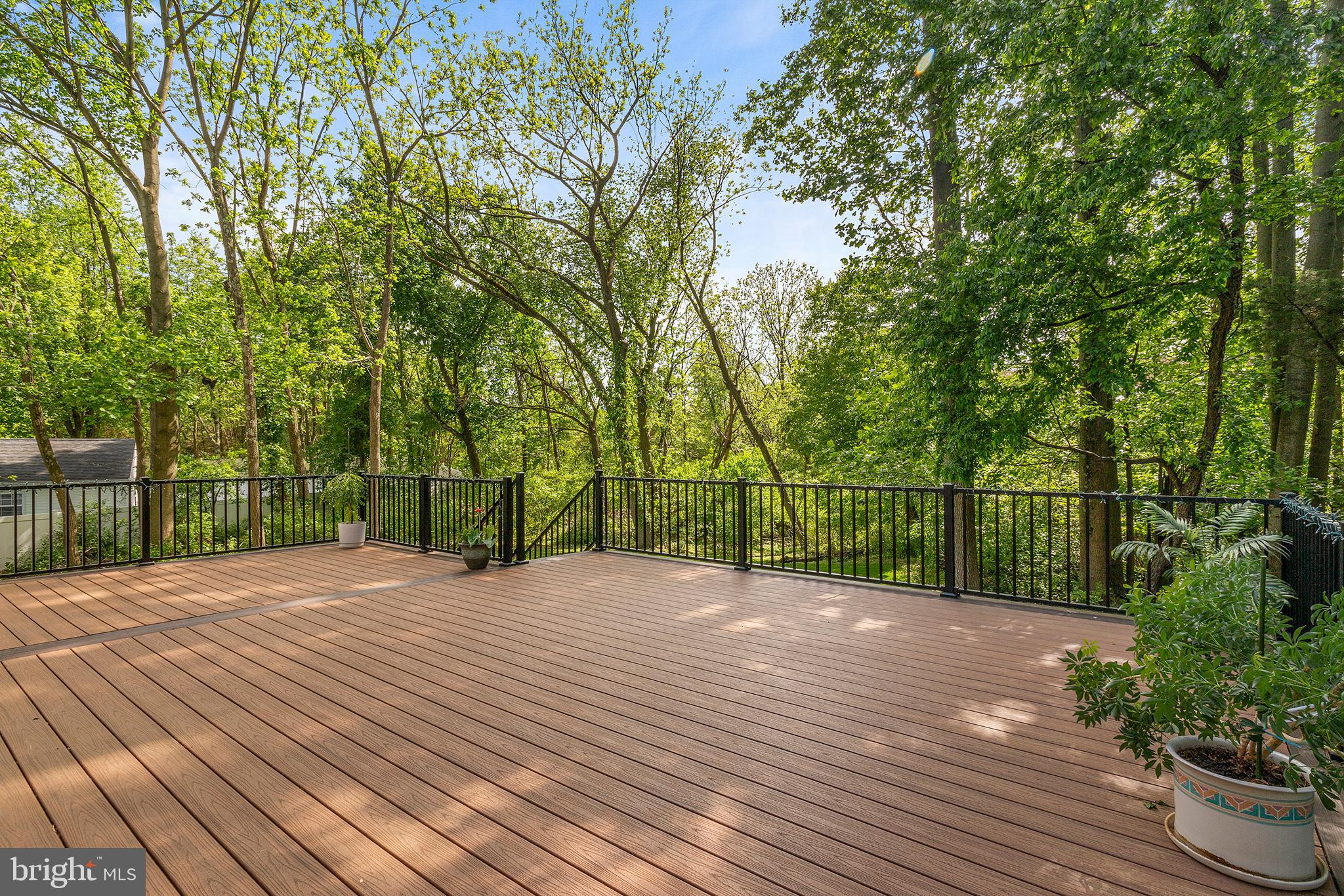 Trex Deck off of Family Room