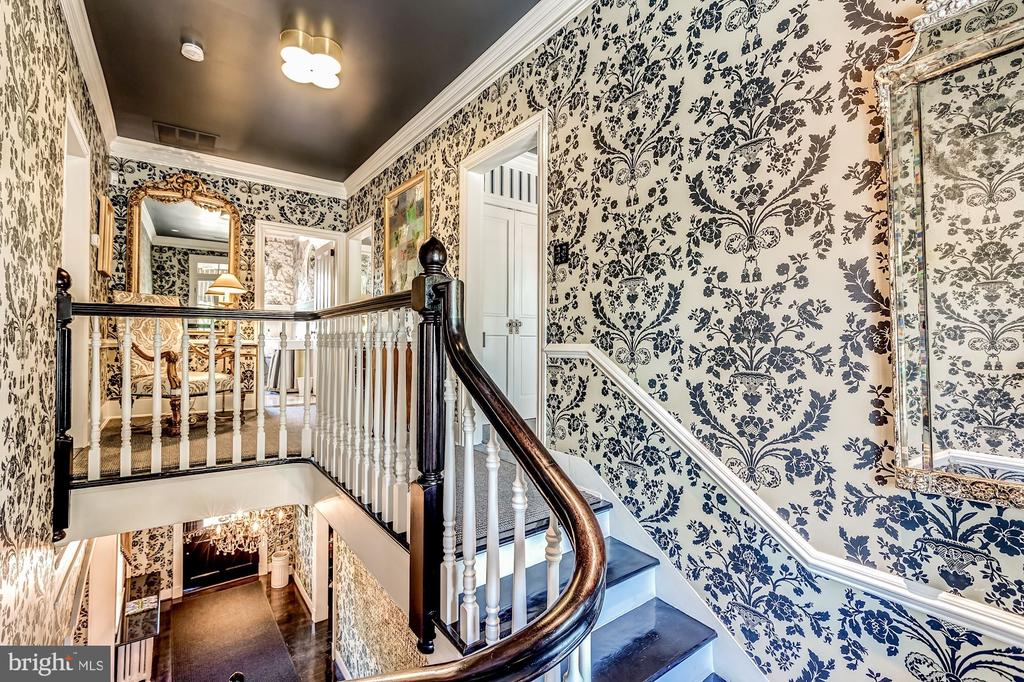 Main Stairs to second floor - 38025 JOHN MOSBY HWY, MIDDLEBURG