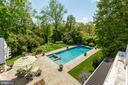 Balcony overlooks pool & gardens - 38025 JOHN MOSBY HWY, MIDDLEBURG
