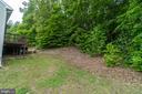 Backyard - 9508 TIMBERLAKE RD, FREDERICKSBURG