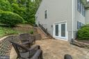 Lower Left Side Patio view 2 - 9508 TIMBERLAKE RD, FREDERICKSBURG