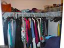 Master BR has 2 separate closets - 15839 JOHN DISKIN CIR #72, WOODBRIDGE