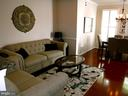 Living - Dining Room combination - 15839 JOHN DISKIN CIR #72, WOODBRIDGE