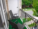 Balcony - 15839 JOHN DISKIN CIR #72, WOODBRIDGE