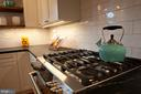 Gas cooking and under cabinet lighting - 900 N FREDERICK ST, ARLINGTON