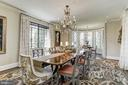 Dining Room - 6409 KENNEDY DR, CHEVY CHASE