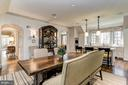 Breakfast Room - 6409 KENNEDY DR, CHEVY CHASE