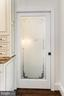 Space-saving yet elegant Pocket Door to Pantry - 2705 WOODLEY RD NW, WASHINGTON