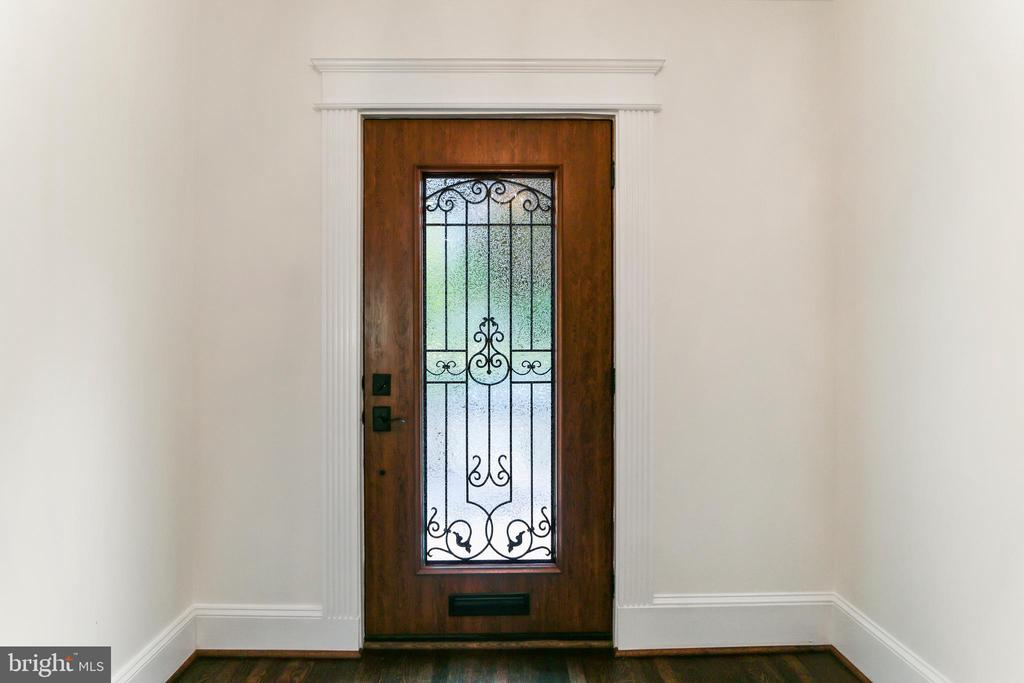 The door is gorgeous - and worth seeing again. - 2705 WOODLEY RD NW, WASHINGTON