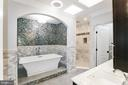Large Luxurious Master Bath w/ heated tile floor - 2705 WOODLEY RD NW, WASHINGTON