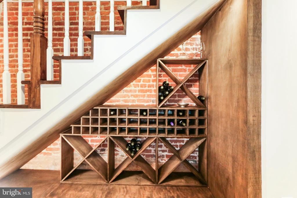 Custom built Wine Rack! - 2705 WOODLEY RD NW, WASHINGTON