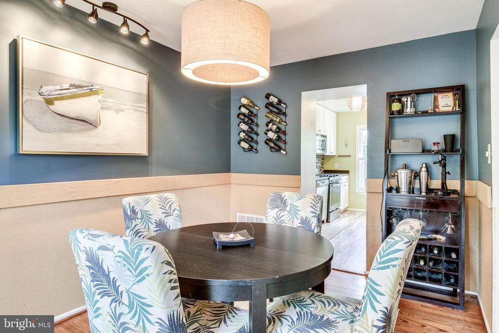Dining room - 5508 KENDRICK LN, BURKE