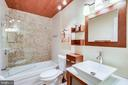 Updated bath.  with shower/tub - 5508 KENDRICK LN, BURKE