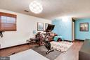 Lower level recreation room - 5508 KENDRICK LN, BURKE