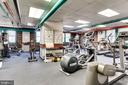 exercise fitness room with modernized equipment - 4000 CATHEDRAL AVE NW #43-B, WASHINGTON