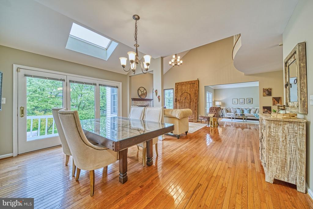 Dining Area with Skylight - 1321 GATESMEADOW WAY, RESTON