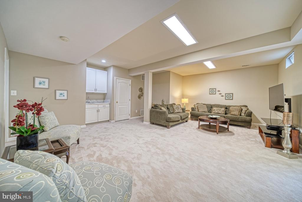 Lower Level Large Rec Room - 1321 GATESMEADOW WAY, RESTON
