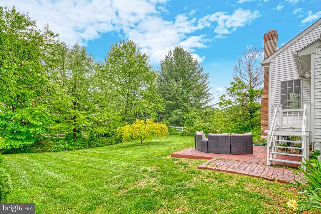 Backyard - 1321 GATESMEADOW WAY, RESTON