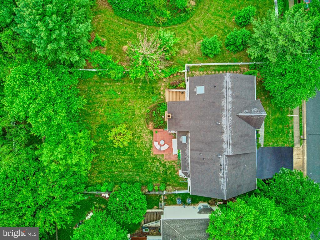 Aerial View - 1321 GATESMEADOW WAY, RESTON
