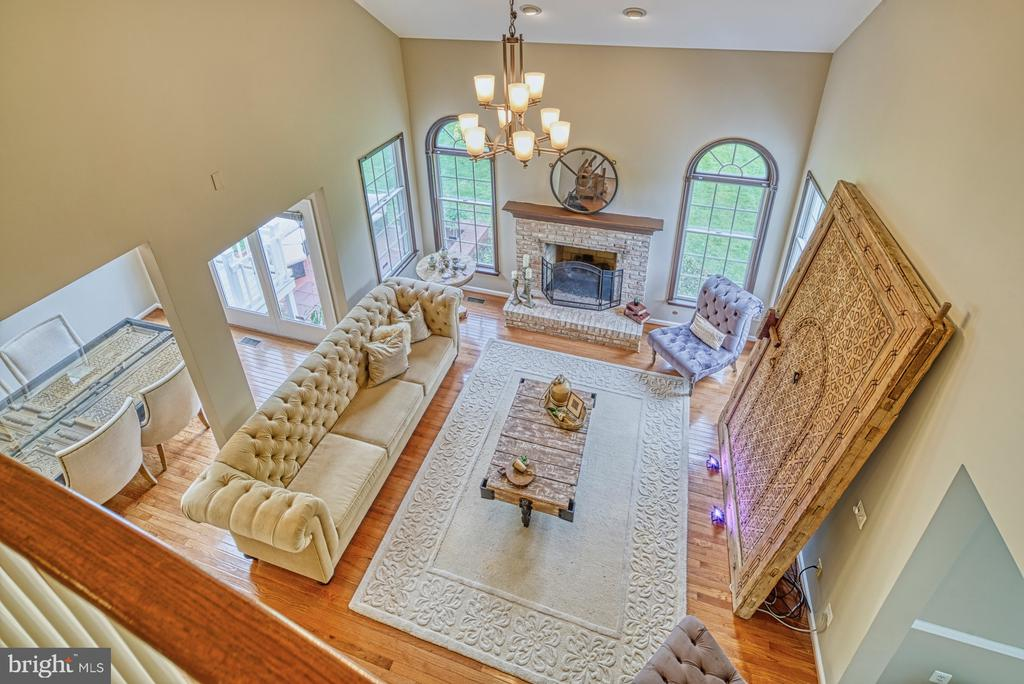 View of Two Story Family Room - 1321 GATESMEADOW WAY, RESTON
