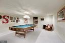 Basement Pool Room - 4811 WALNEY KNOLL CT, CHANTILLY
