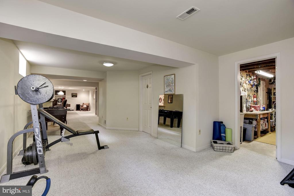 Basement work-out room - 4811 WALNEY KNOLL CT, CHANTILLY