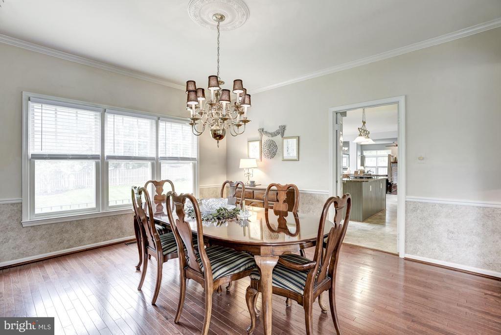 Dining Room - 4811 WALNEY KNOLL CT, CHANTILLY