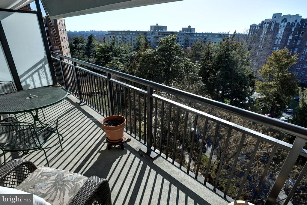 Balcony view - 3900 NW WATSON PL NW #A-7C, WASHINGTON