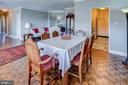 Dining room - 3900 NW WATSON PL NW #A-7C, WASHINGTON