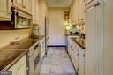 Kitchen with built-ins - 3900 NW WATSON PL NW #A-7C, WASHINGTON