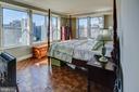 Sun filled main bedroom - 3900 NW WATSON PL NW #A-7C, WASHINGTON