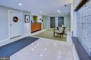 Lobby with view of the front desk. - 3900 NW WATSON PL NW #A-7C, WASHINGTON