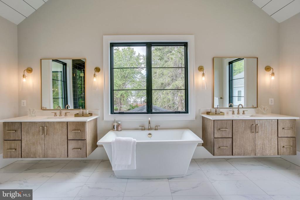 Luxurious Master Bath - 711 FREDERICK ST SW, VIENNA