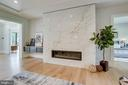 Linear fireplaces - 711 FREDERICK ST SW, VIENNA
