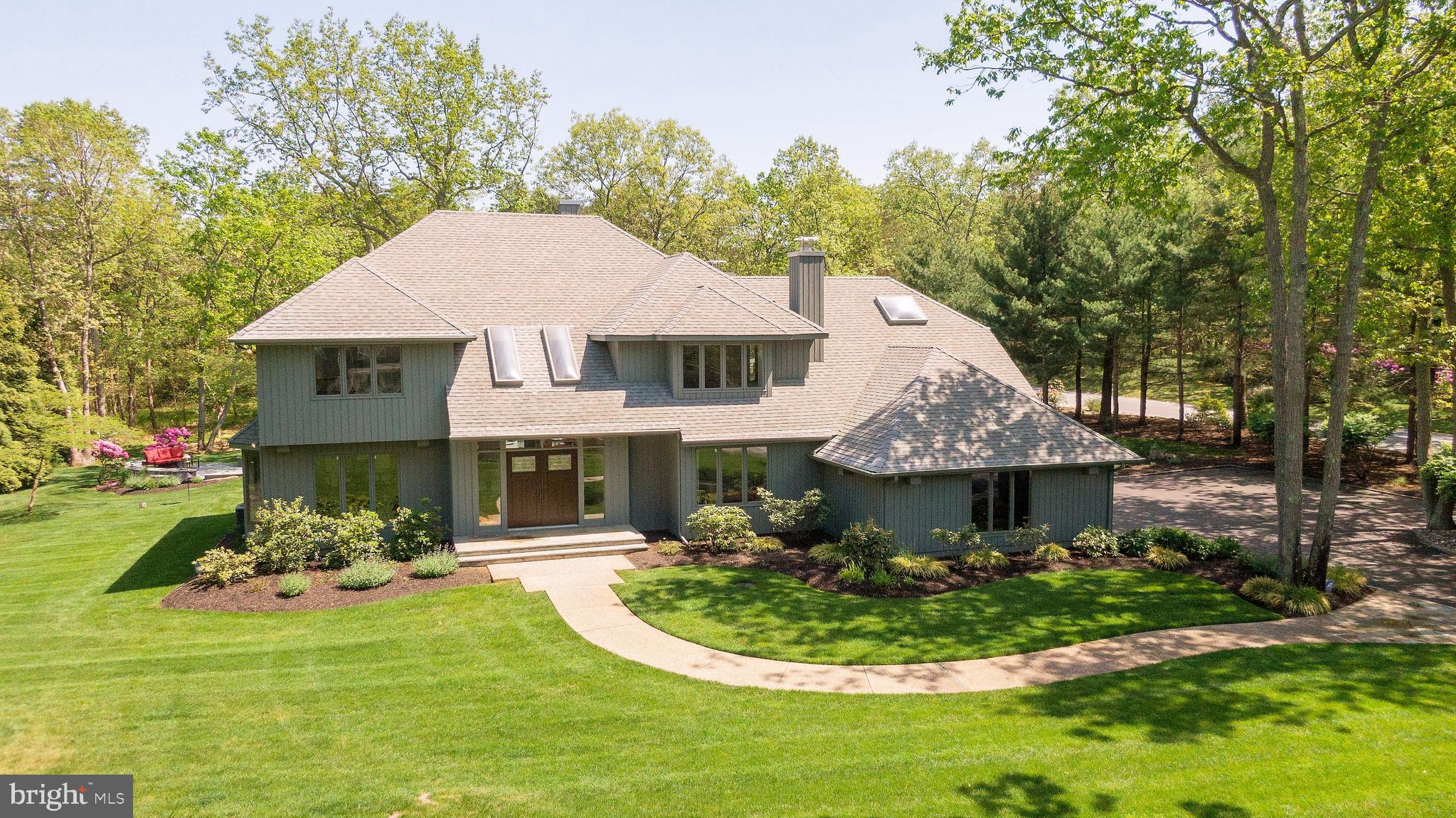 Situated on 2.5 acres