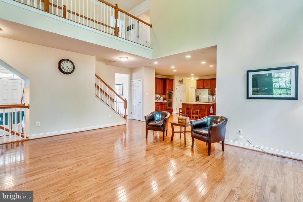 Overlook into family room - 5262 MAITLAND TER, FREDERICK