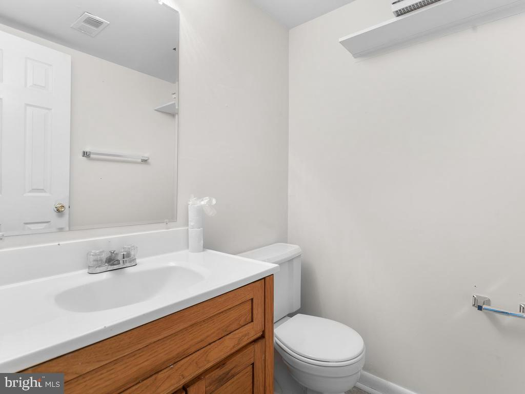 Half Bath in Basement - 1635 COLONIAL WAY, FREDERICK